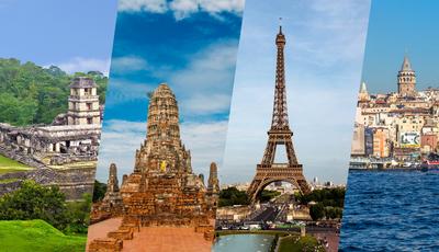 Os 20 países mais visitados do mundo. Será que Portugal está na lista?