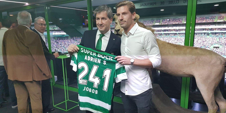 Adrien Silva surpreendido com posição de Bruno de Carvalho