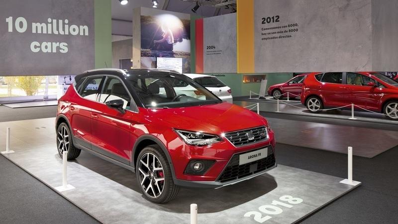 SEAT ultrapassa 10 milhões de veículos fabricados em Martorell