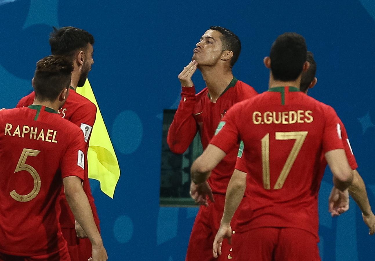 GoalPoint: Ronaldo é o único português no Melhor Onze da 1.ª jornada do Mundial2018