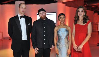 Era suposto ser segredo, mas William, Kate, Harry e Meghan foram 'apanhados' em saída a quatro