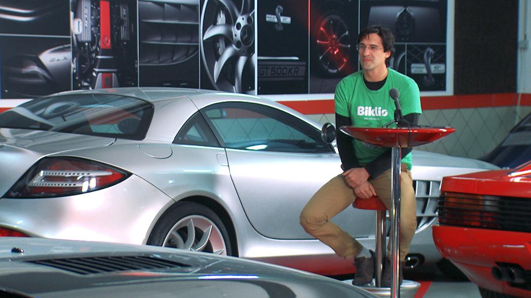 Garage Pitch 901: o Biklio é uma aplicação que recompensa o uso da bicicleta