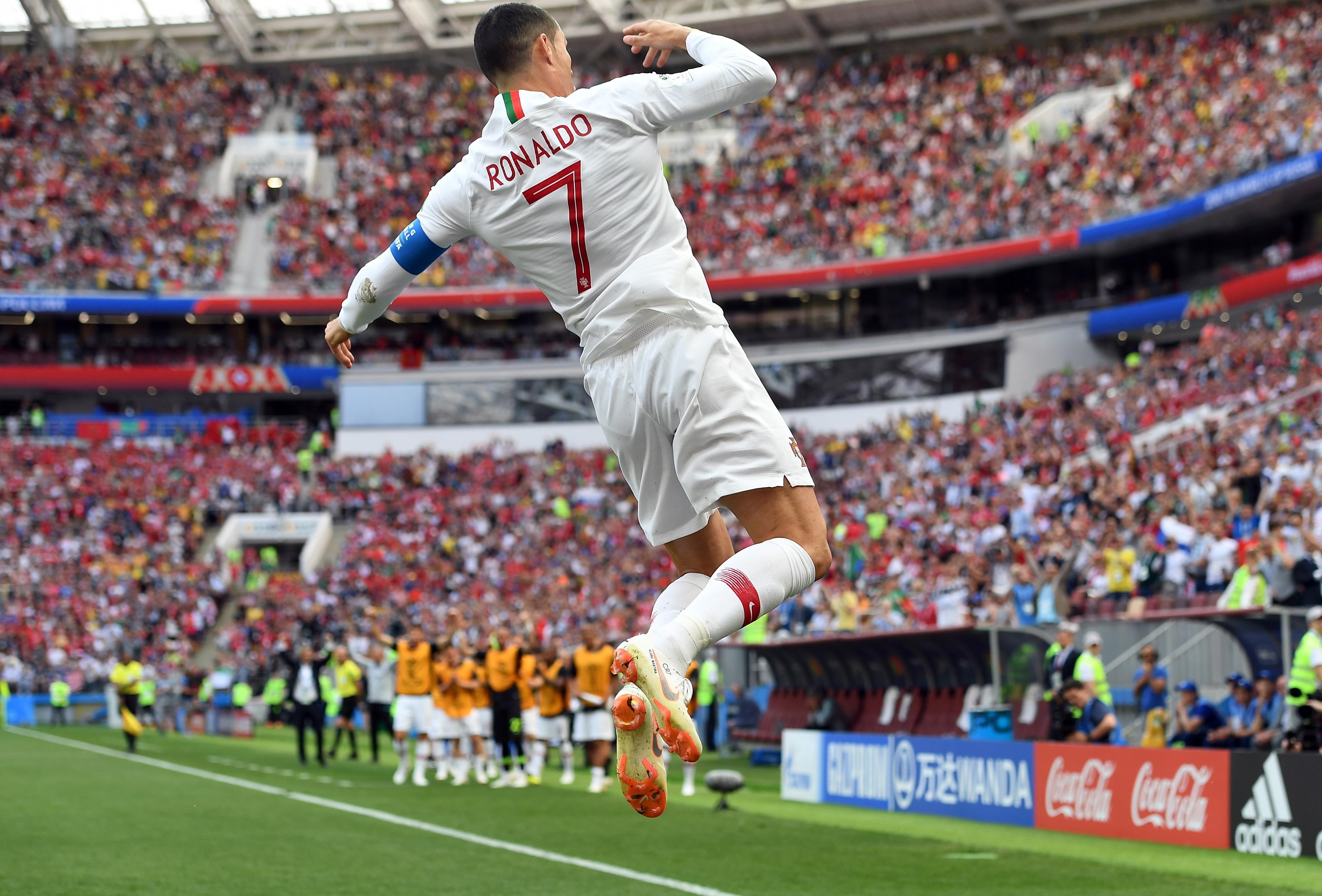 Cristiano Ronaldo volta a ser determinante na vitória de Portugal contra Marrocos