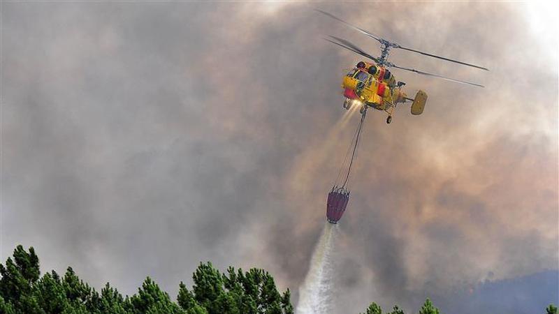 Há sete distritos em estado de alerta vermelho por risco de incêndio