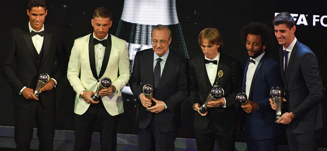 """Florentino Pérez sobre Ronaldo: """"Um dia voltará ao Real Madrid"""""""