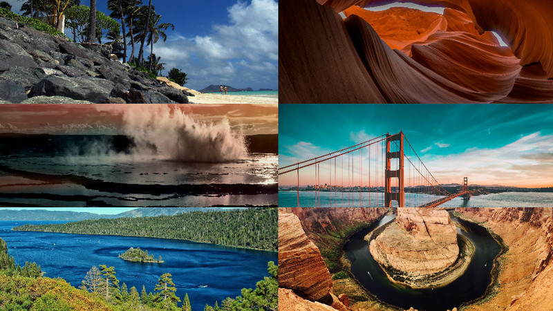 Beleza americana. As paisagens mais incríveis dos Estados Unidos