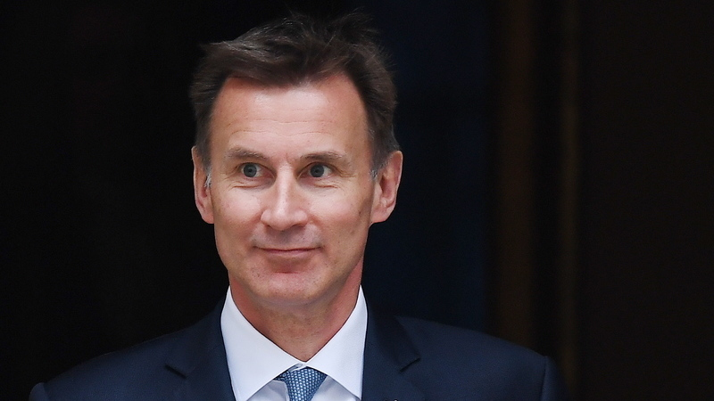 Jeremy Hunt é o adversário de Boris Johnson na eleição para suceder a Theresa May