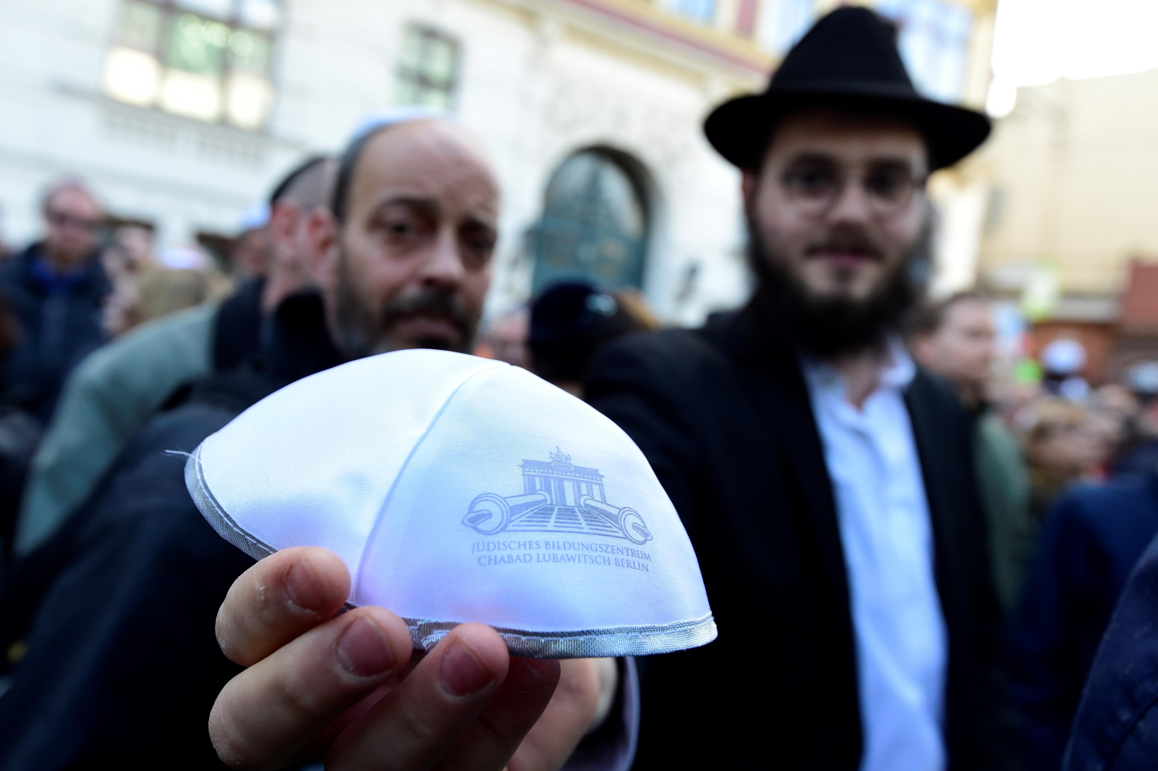 Jornada de solidariedade na Alemanha contra nova onda de antissemitismo