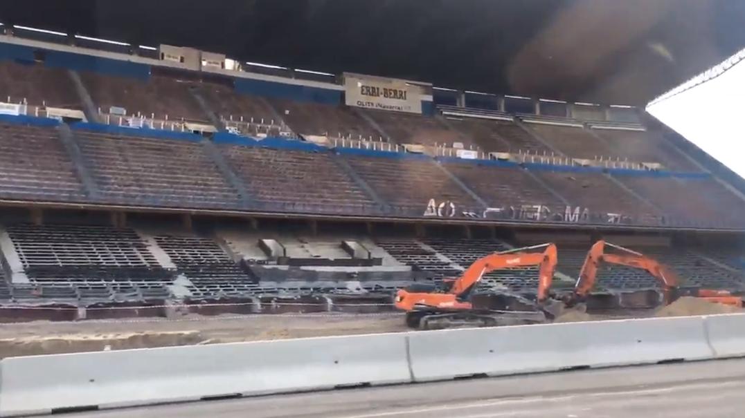 Passar de carro no mítico Vicente Calderón? Agora é possível