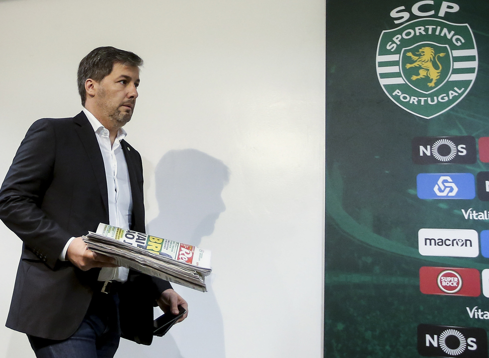 """Bruno de Carvalho: """"Não vou estar no Jamor, mas vou estar com eles, com a minha alma e com o meu coração"""""""