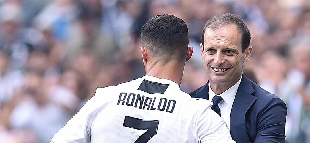 Treinador da Juventus diz que expulsão de Ronaldo já faz parte do passado