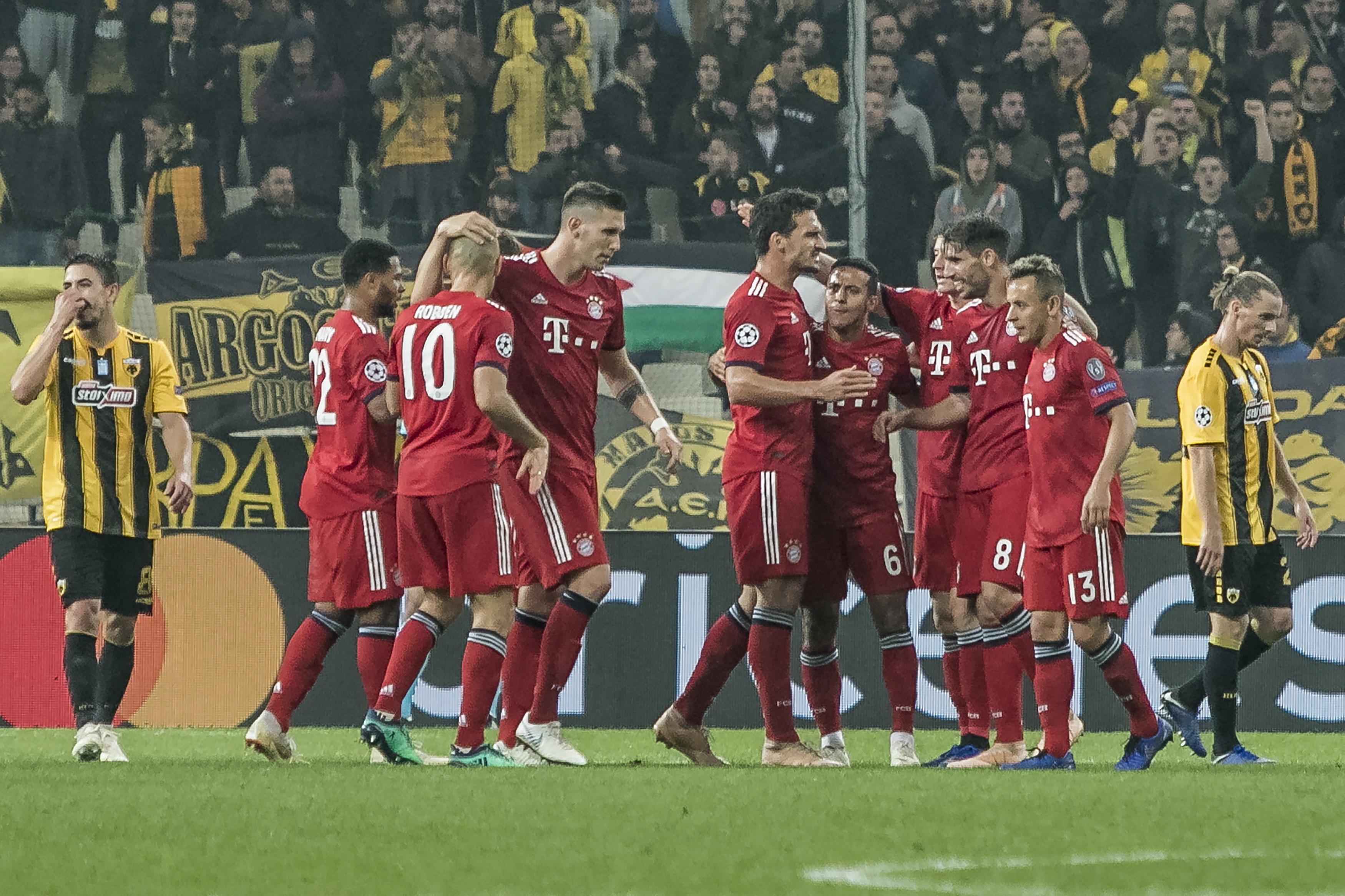 AEK vai reembolsar 10 euros a cada adepto do Bayern por preços altos dos bilhetes