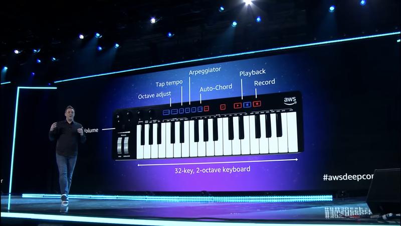"""Amazon revela DeepComposer: um teclado musical que promete criar """"obras-primas"""" em IA"""