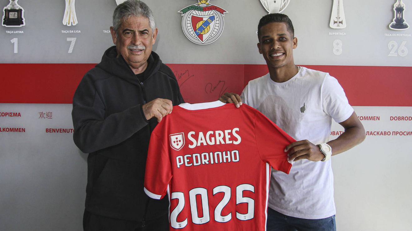 """Pedrinho afasta pressão por ter custado 20 ME ao Benfica e responde a Jesus: """"Ele não me conhece bem"""""""