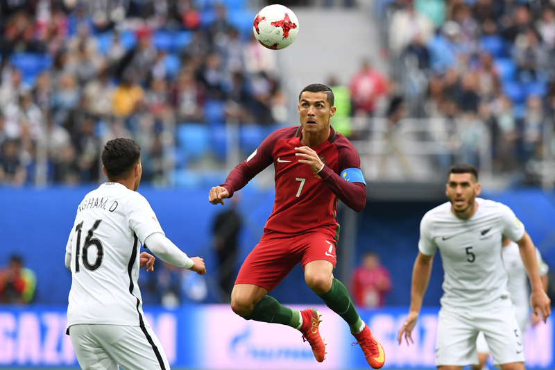 Cristiano Ronaldo já leva mais golos que jogos esta época