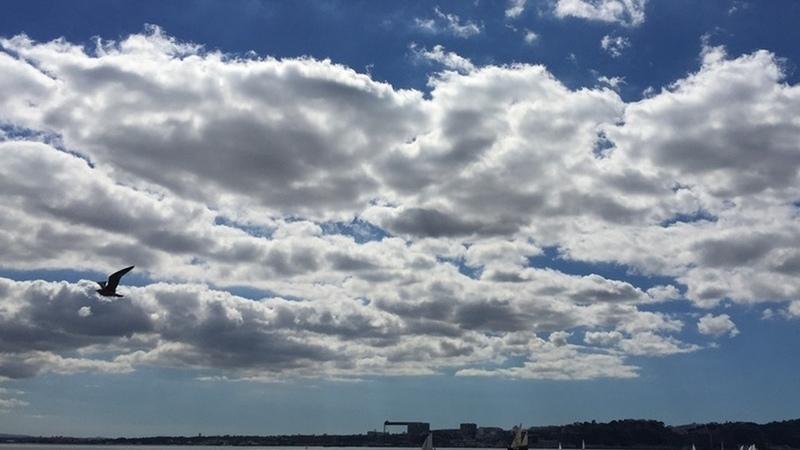 Nuvens um pouco por todo o país. Saiba aqui o tempo para hoje