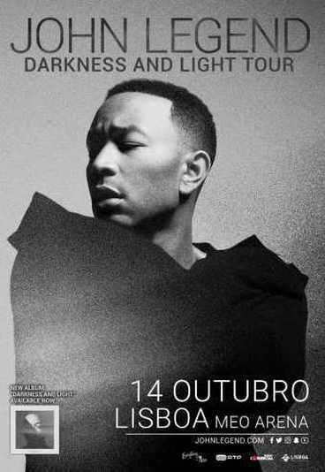 "John Legend - ""Darkness & Light Tour"""