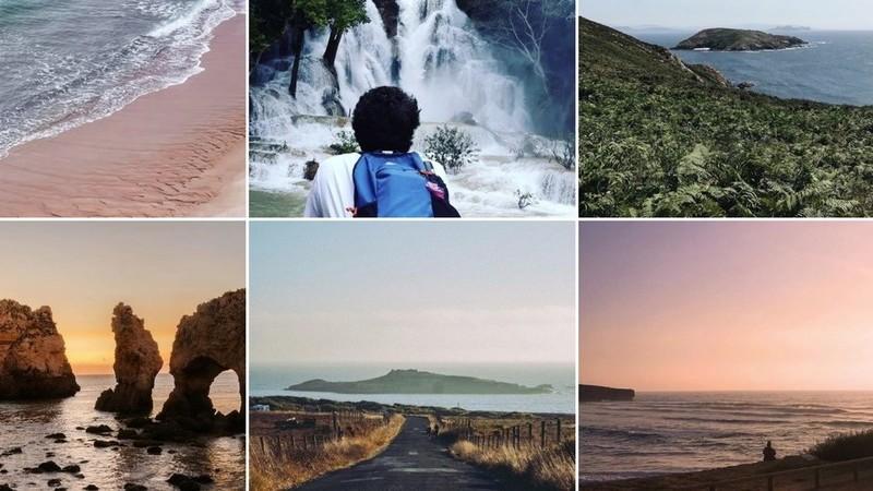 Viagens de Instagram: Do nascer ao pôr do sol, entre praias, ilhas e cascatas, mergulhamos no verão