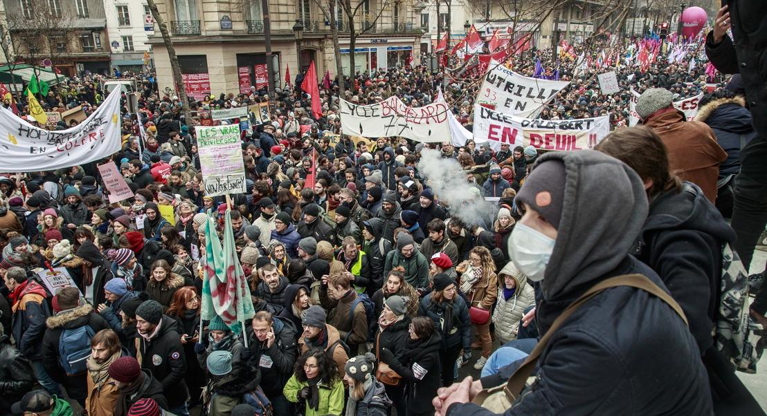 As reformas são uma questão muito delicada em França. E o governo Macron está a sentir isso nas ruas