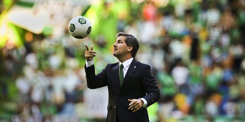 """Bruno de Carvalho espera Sporting """"campeão"""" no final da época"""
