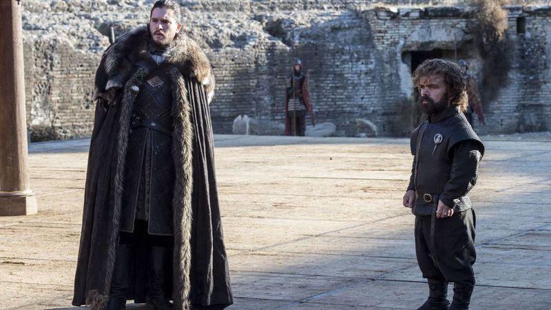 """Encontro histórico em """"A Guerra dos Tronos"""": As fotos do último episódio"""
