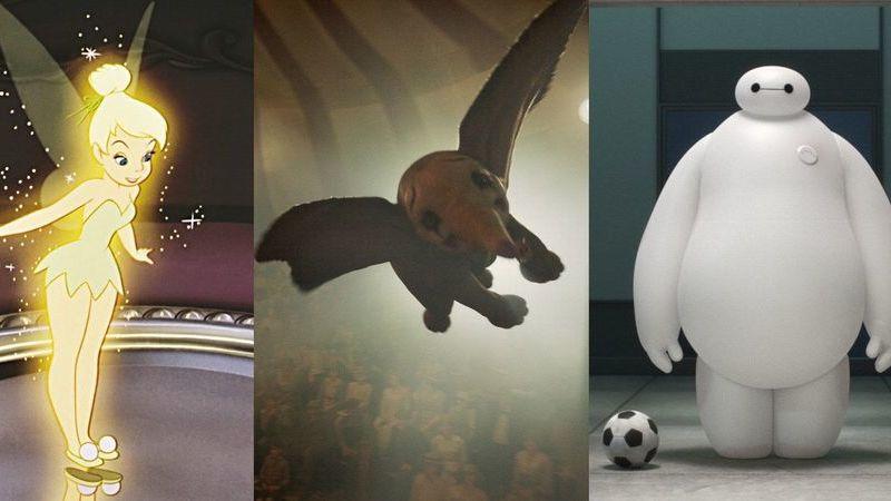 """De """"Dumbo"""" a """"Sininho"""": heróis Disney que voam"""