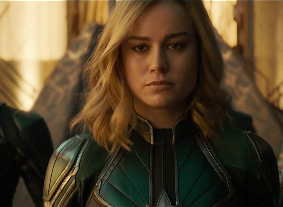 Capitão Marvel sorri pouco? Atriz Brie Larson não deixa reação sexista sem resposta