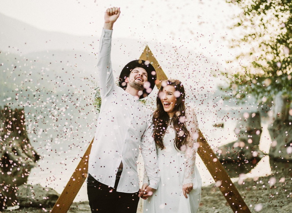 As 20 melhores fotos de casamento de 2017