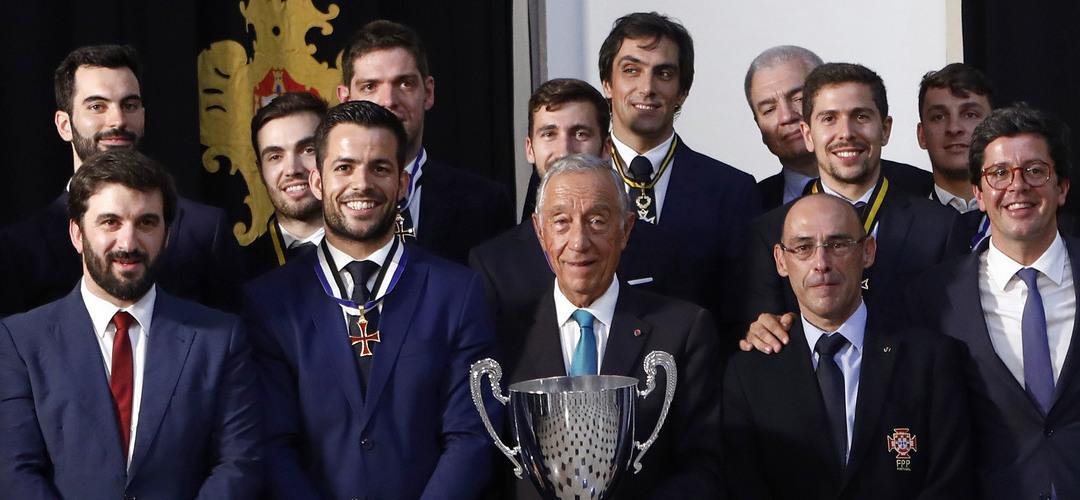 """Hóquei/Mundial: Ângelo Girão e João Rodrigues consideram pertencer a """"geração de ouro"""""""