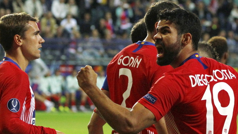 Super Diego Costa dá Supertaça Europeia ao Atlético de Madrid