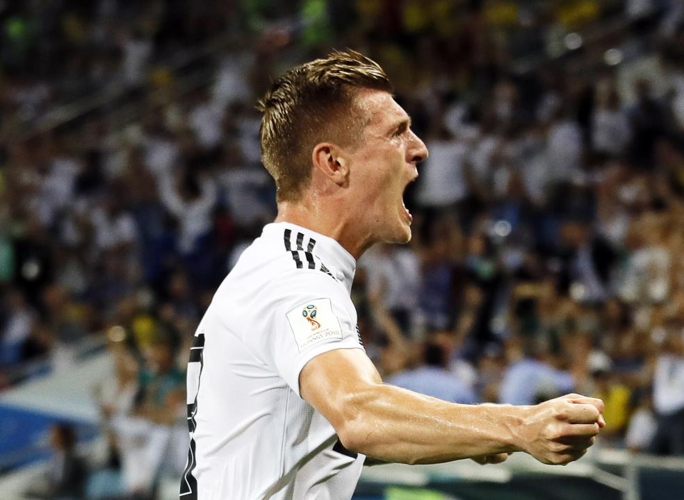 """O Alemanha-Suécia em números: Toni Kroos foi o MVP de uma """"Mannschaft"""" a correr atrás do prejuízo"""