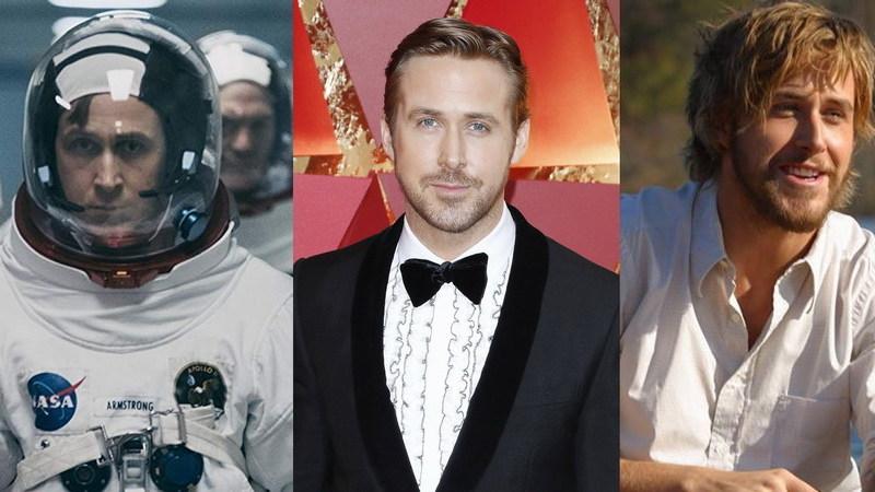 """Ryan Gosling: 11 filmes essenciais do ator para juntar ao """"O Primeiro Homem na Lua"""""""