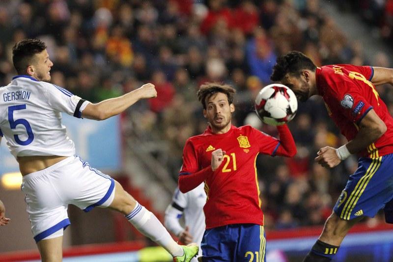 Espanha e Itália mantêm 'braço de ferro' no Grupo G