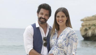 Em breve em 'Paixão': Tiago e Bé felizes, à espera de bebé