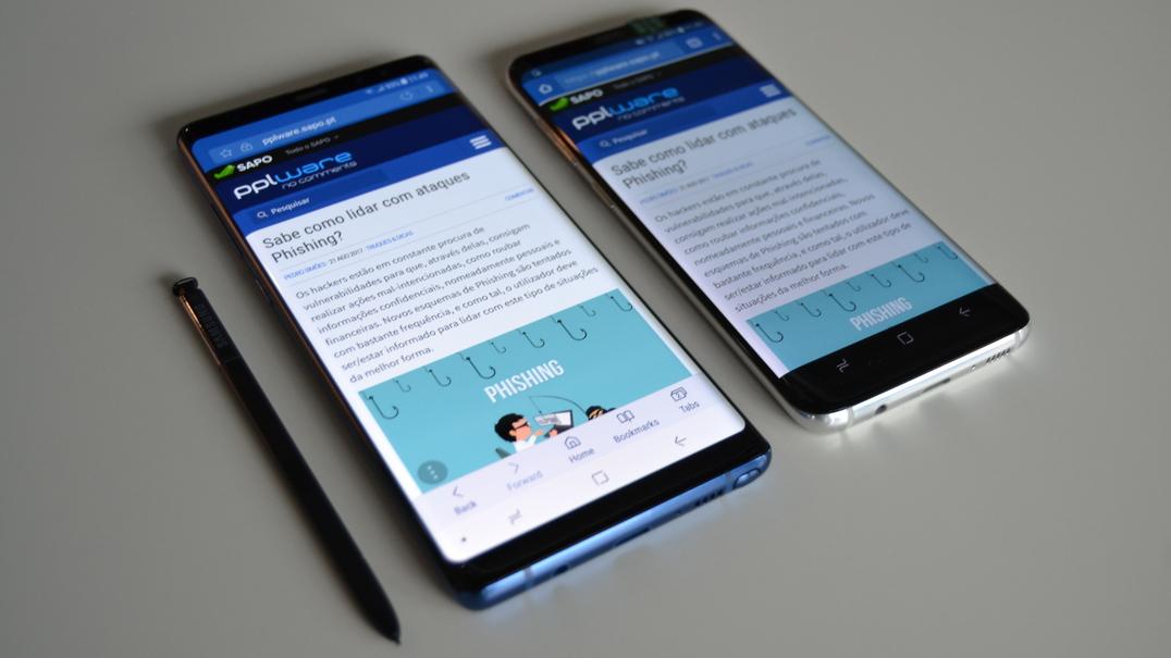 Galaxy Note8: O mais poderoso da Samsung