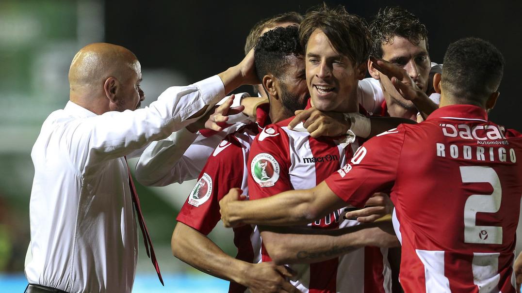 O grande golo de Vítor Gomes que colocou o Aves na final da Taça de Portugal