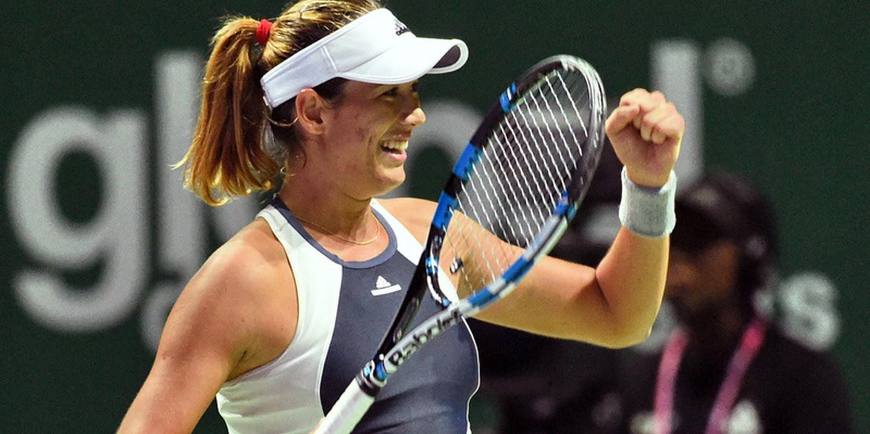 Garbiñe Muguruza eleita tenista do ano pela WTA