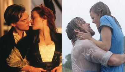 """De """"Titanic"""" ao """"Diário da Nossa Paixão"""": Os filmes mais românticos para ver a dois"""