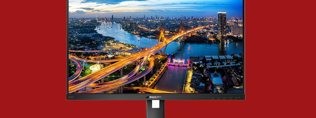 """Monitor Philips 242B1V foi desenhado para melhorar a produtividade e proteger imagem dos """"olhares alheios"""""""