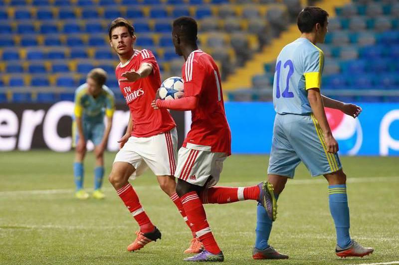 Benfica vai defrontar CSKA Moscovo na Youth League Cup