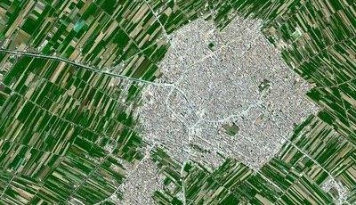 Imagens a grande altitude revelam-nos como a agricultura muda a face do nosso planeta