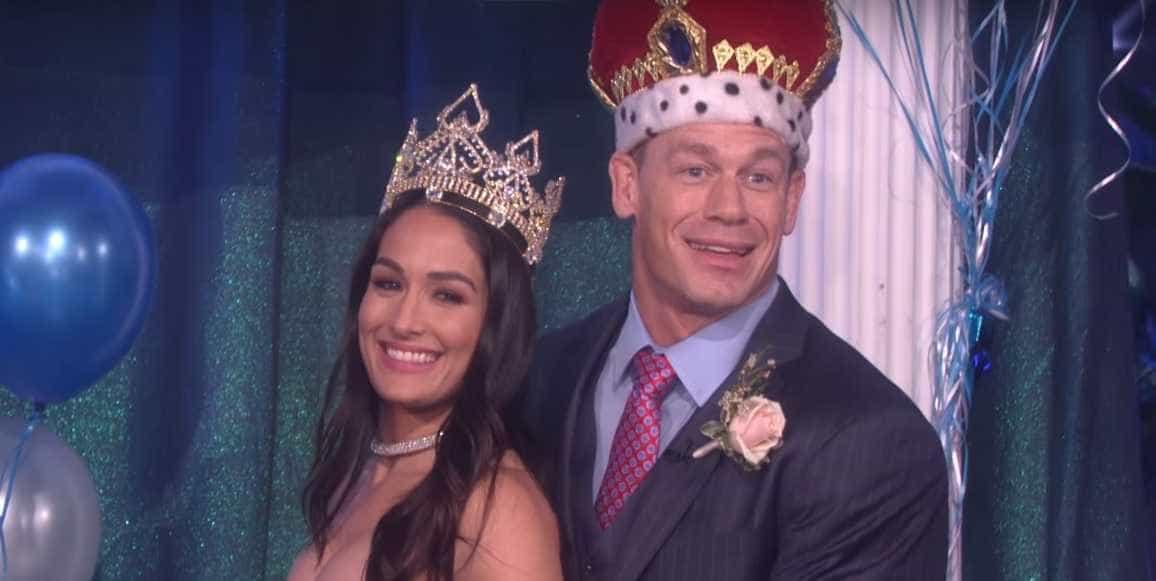 Aos 40 anos, John Cena vai a baile de finalistas pela primeira vez