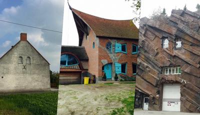 Jovem fotografa as casas mais feias da Bélgica. O resultado é hilariante