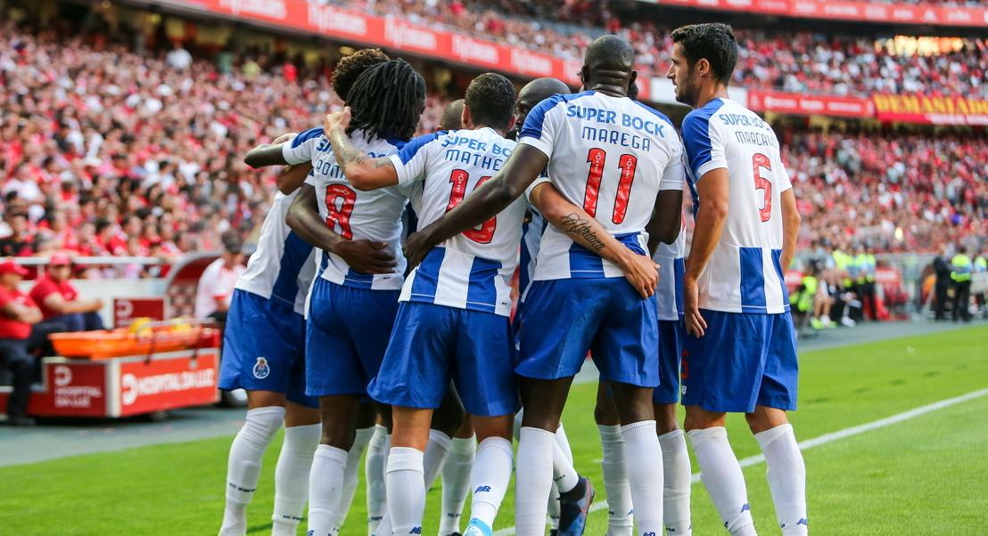 FC Porto vence e convence no clássico frente ao Benfica