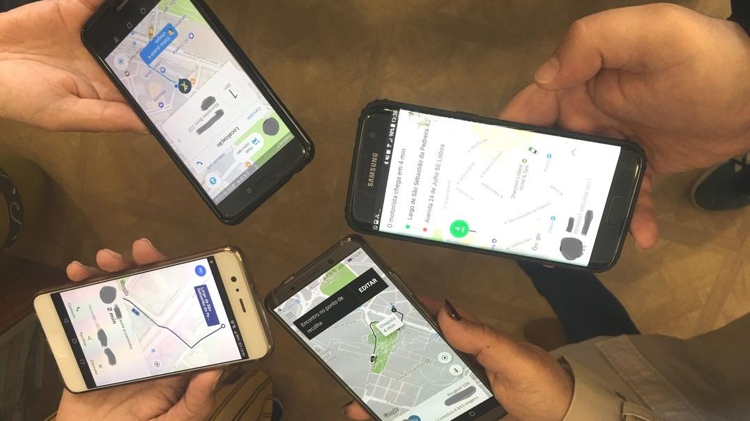Quem é mais rápido e mais barato? Cabify, mytaxi, Taxify ou Uber?