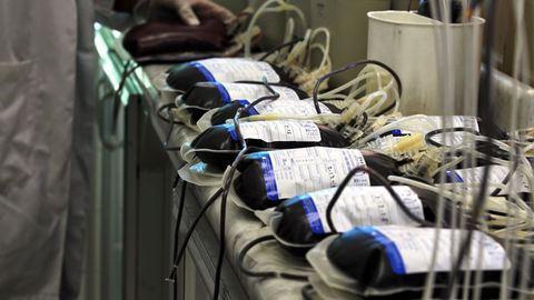 Há três grupos sanguíneos com reservas em baixo