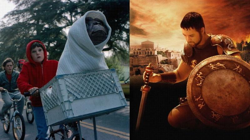 """De """"ET"""" a """"Gladiador"""": 15 sequelas que Hollywood (ainda) não conseguiu fazer"""