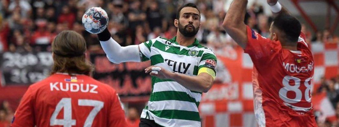 """Andebol: Sporting diz-se """"disponível para que o campeonato termine agora"""""""
