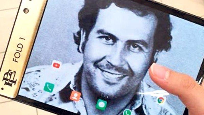 Se Pablo Escobar fosse vivo, que smartphone usaria? Provavelmente o Escobar Fold 1