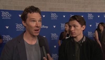 """Marvel colocou Benedict Cumberbatch a """"vigiar"""" o novo Homem-Aranha?"""